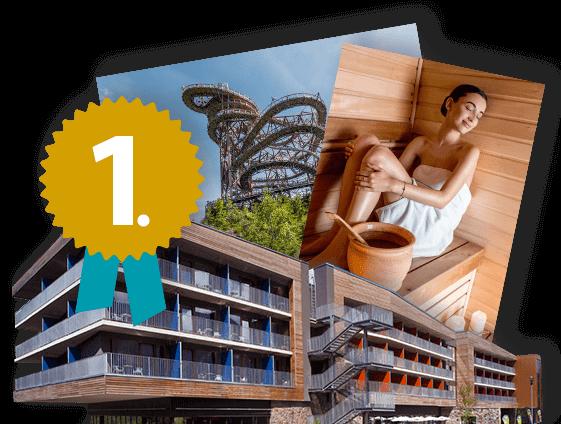 1. místo - pobyt v hotelu