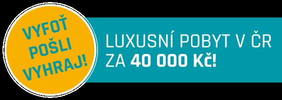 Luxusní pobyt za 40 000 Kč